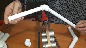 Пайка полипропиленовых труб: время и температура утюга