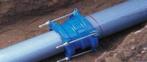 Соединение канализационной трубы фланцем