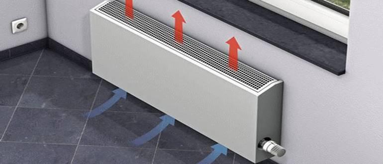 Конвективные радиаторы отопления