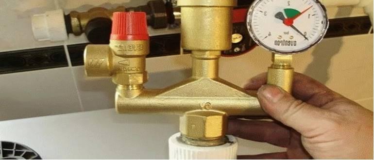 Вывод воздуха из системы отопления
