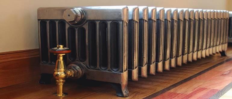 Устройство чугунных радиаторов