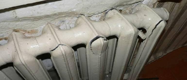 Выбор чугунных радиаторов