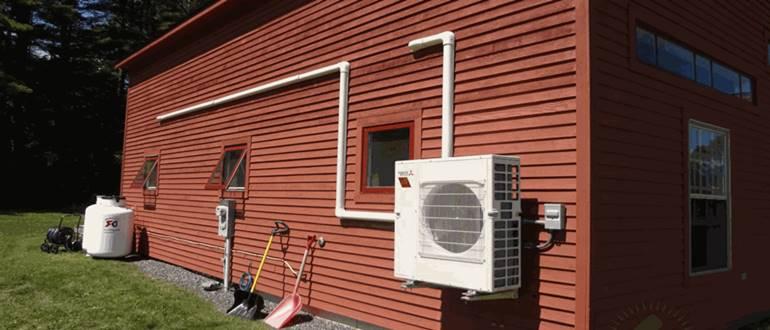 Отопление тепловым насосом воздух воздух