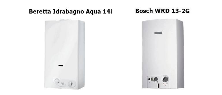 Bosch WRD 13-2G и Beretta Idrabagno Aqua 14i