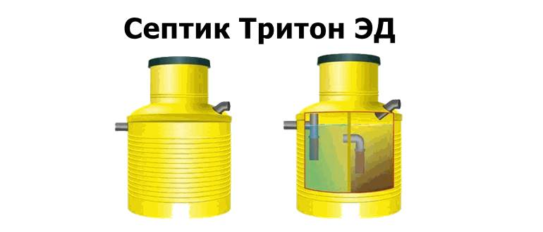 Септик Тритон ЭД