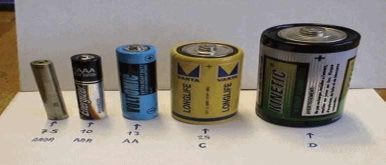 сравнение батареек