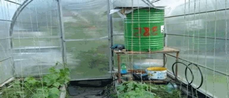 водопровод в теплице